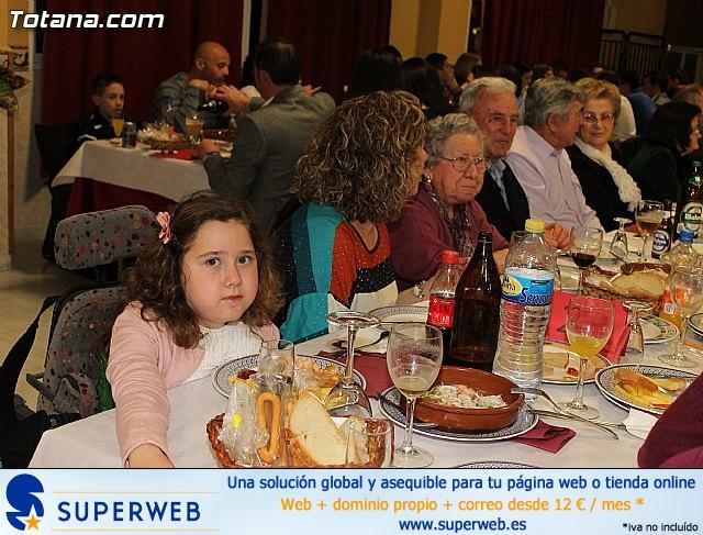 Cena-gala. Hdad de Jesús en el Calvario y Santa Cena 2013 - 5