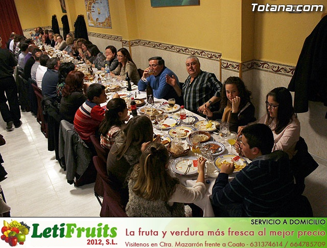 Cena-gala. Hdad de Jesús en el Calvario y Santa Cena 2013 - 19
