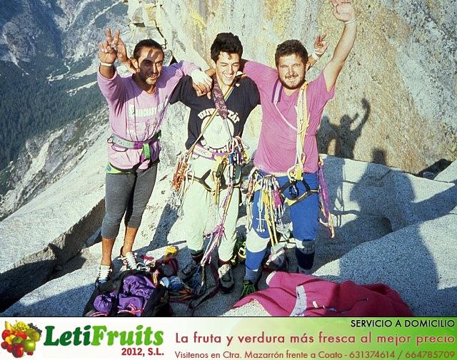 Se cumplen 25 años de la escalada  de tres jóvenes totaneros  al