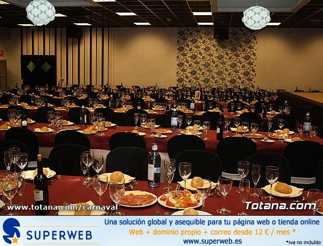 Cena Carnaval 2012 - Proclamación de La Musa y Don Carnal 2012 - 1