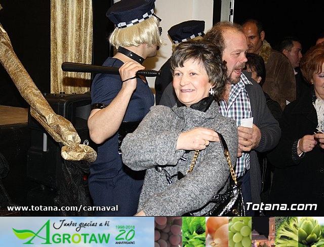 Cena Carnaval 2012 - Proclamación de La Musa y Don Carnal 2012 - 19