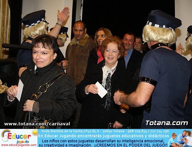 Cena Carnaval 2012 - Proclamación de La Musa y Don Carnal 2012 - 20