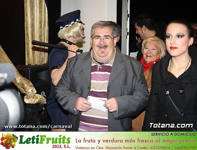 Cena Carnaval 2012 - Proclamación de La Musa y Don Carnal 2012 - 24