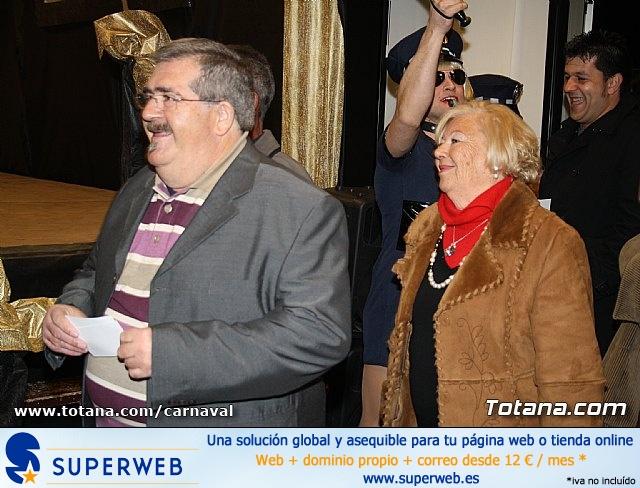 Cena Carnaval 2012 - Proclamación de La Musa y Don Carnal 2012 - 25