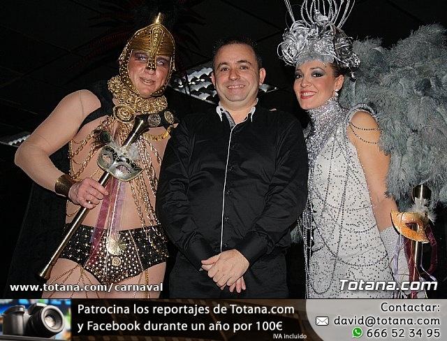 Cena Carnaval 2012 - Proclamación de La Musa y Don Carnal 2012 - 422