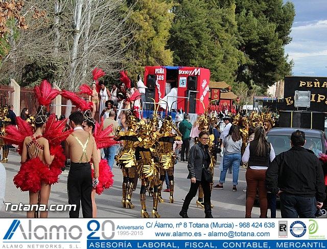 Carnaval de Totana 2016 - Desfile de peñas foráneas (Reportaje I) - 1