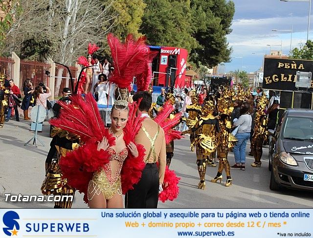 Carnaval de Totana 2016 - Desfile de peñas foráneas (Reportaje I) - 2