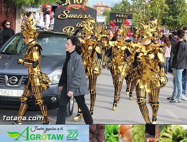 Carnaval de Totana 2016 - Desfile de peñas foráneas (Reportaje I) - 5