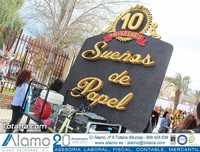Carnaval de Totana 2016 - Desfile de peñas foráneas (Reportaje I) - 14