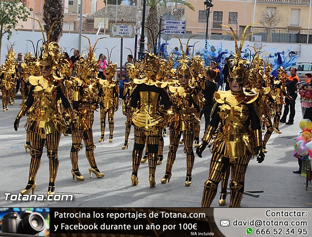 Carnaval de Totana 2016 - Desfile de peñas foráneas (Reportaje I) - 15