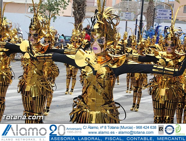 Carnaval de Totana 2016 - Desfile de peñas foráneas (Reportaje I) - 17