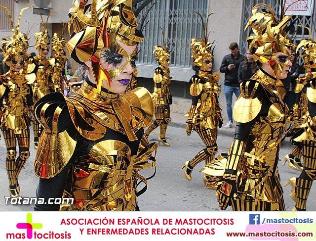 Carnaval de Totana 2016 - Desfile de peñas foráneas (Reportaje I) - 34