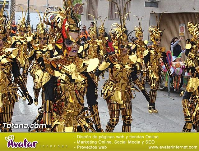 Carnaval de Totana 2016 - Desfile de peñas foráneas (Reportaje I) - 35