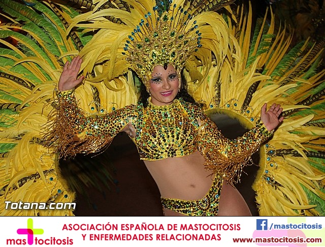 Carnaval de Totana 2016 - Desfile de peñas foráneas (Reportaje I) - 1062