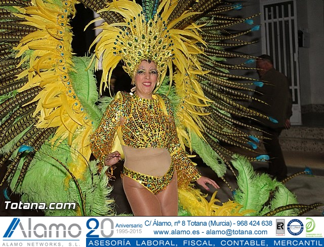 Carnaval de Totana 2016 - Desfile de peñas foráneas (Reportaje I) - 1066
