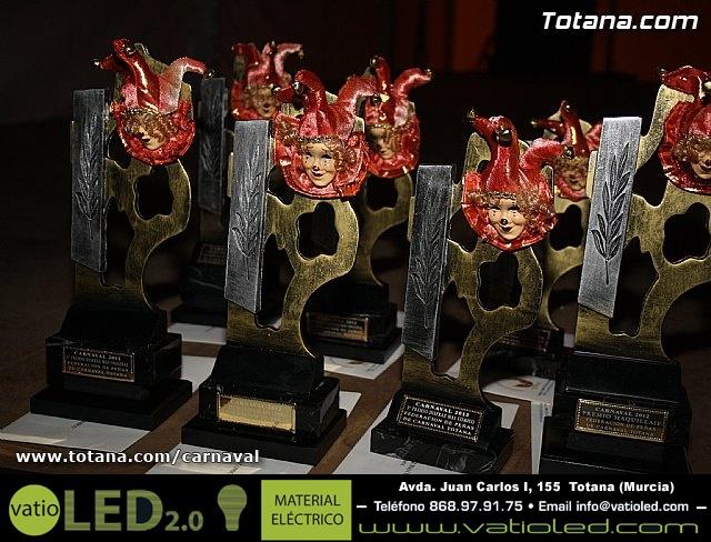 Premios Carnavales de Totana 2012 - 36