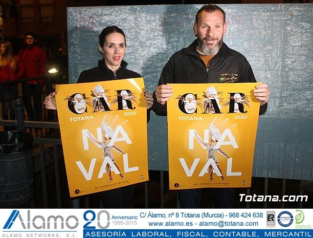 Pegada de carteles Carnaval Totana 2020 - 12