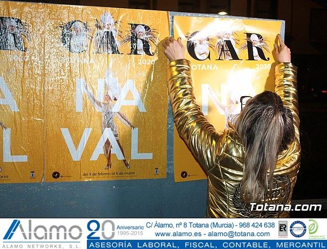 Pegada de carteles Carnaval Totana 2020 - 32