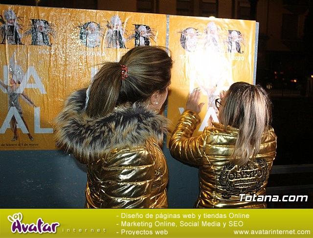 Pegada de carteles Carnaval Totana 2020 - 34