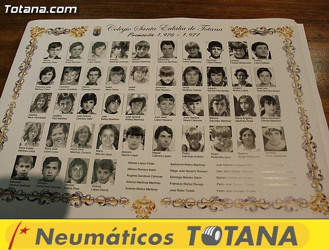 Los antiguos alumnos del Colegio Santa Eulalia que cumplen 50 años, se reúnen por primera vez desde 1.977 - 37