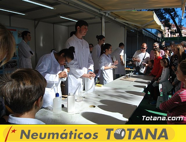 El IES Juan de la Cierva participó en la XVI Semana de la Ciencia y la Tecnología de la Región de Murcia - 7
