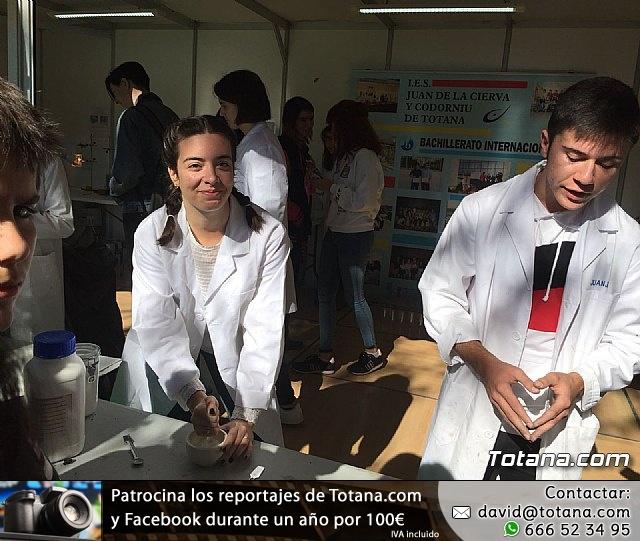 El IES Juan de la Cierva participó en la XVI Semana de la Ciencia y la Tecnología de la Región de Murcia - 34