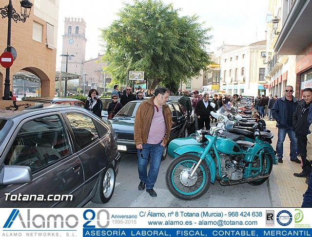 Concentración de vehículos clásicos Totana 2015 - 1