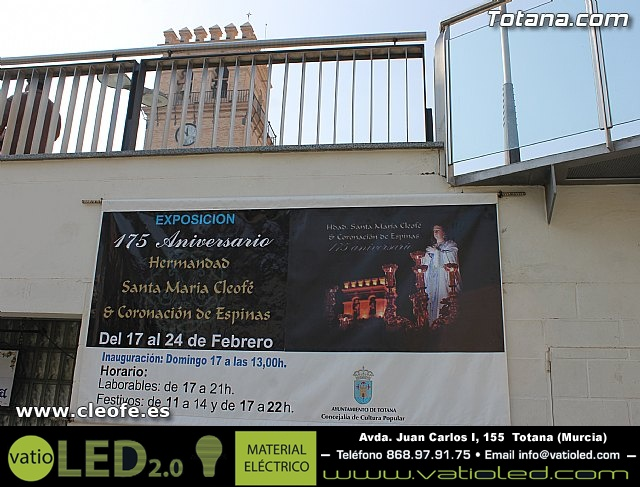 Exposición. Hermandad de Santa María Cleofé - 1