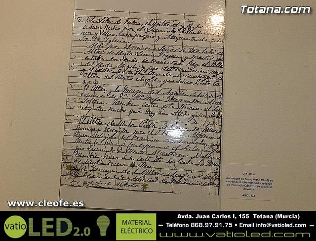 Exposición. Hermandad de Santa María Cleofé - 36