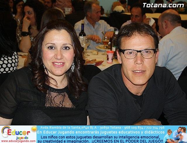 Cena-gala Hdad. Santa María Cleofé y Coronación de Espinas 2014 - 21