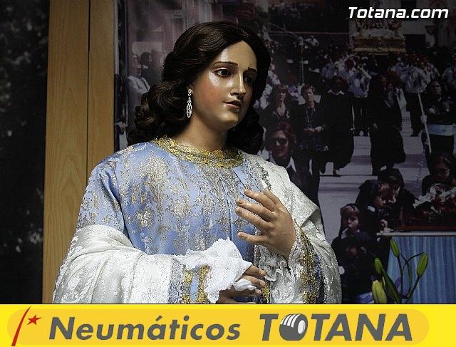 Cultura restaura la imagen de Santa María Cleofé de Totana - 2