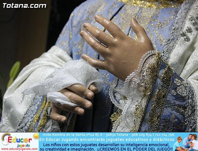 Cultura restaura la imagen de Santa María Cleofé de Totana - 4