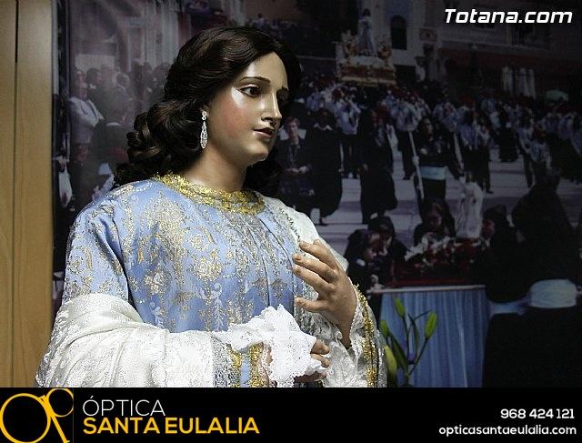 Cultura restaura la imagen de Santa María Cleofé de Totana - 6