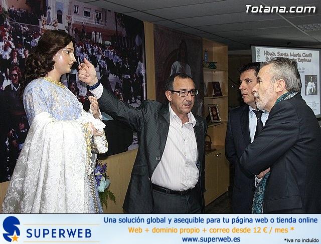 Cultura restaura la imagen de Santa María Cleofé de Totana - 7