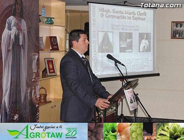 Cultura restaura la imagen de Santa María Cleofé de Totana - 25
