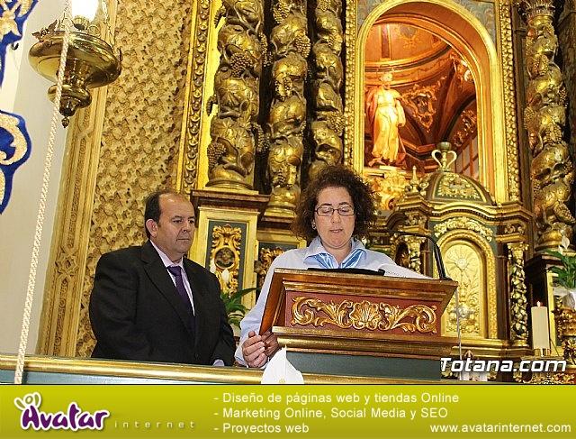 Hdad. Sta. María Cleofé. 175 aniversario - Misa, procesión y placa - 9