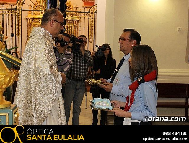 Hdad. Sta. María Cleofé. 175 aniversario - Misa, procesión y placa - 13