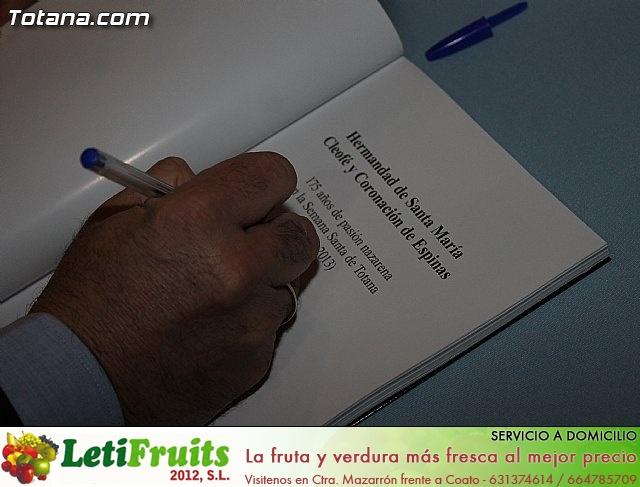 Presentación libro 175 aniversario Hdad. Santa María Cleofé - 28