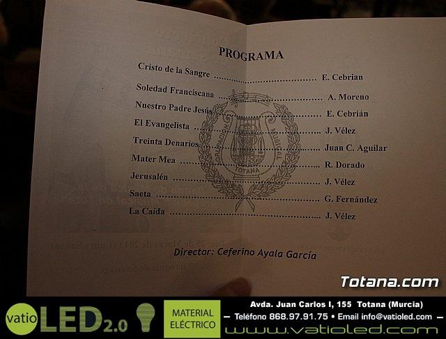 Concierto de Semana Santa. Agrupación Musical de Totana - 2013 - 2