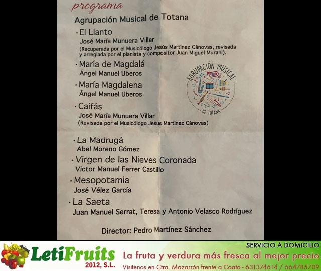 Concierto de Marchas Pasionarias Agrupación Musical de Totana 2018 - 33