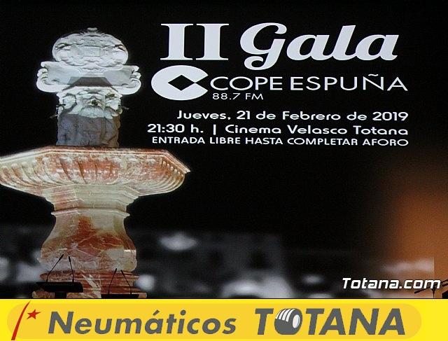 II gala Cope Espuña - 2