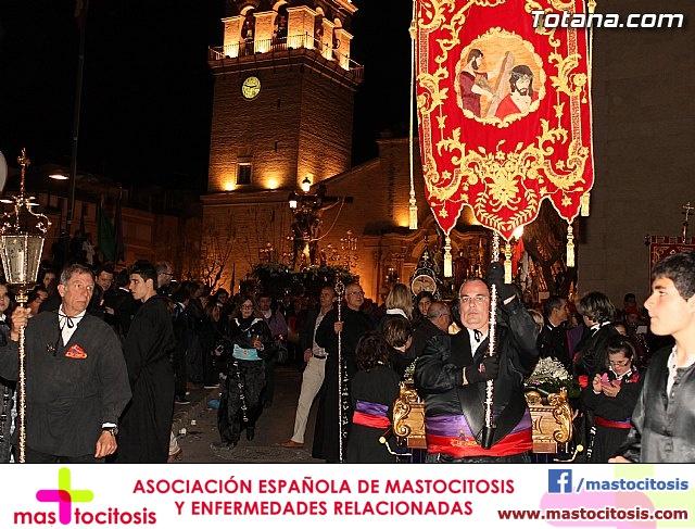 TRASLADO DE LOS TRONOS A SUS SEDES. VIERNES SANTO 2013 - 1