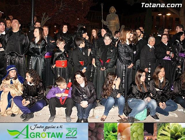 TRASLADO DE LOS TRONOS A SUS SEDES. VIERNES SANTO 2013 - 8