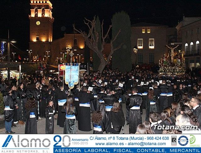 Traslado de los tronos a sus sedes (Calle Puente) . Viernes Santo 2018 - 8