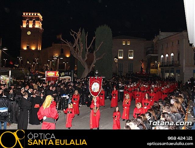 Traslado de los tronos a sus sedes (Calle Puente) . Viernes Santo 2018 - 13