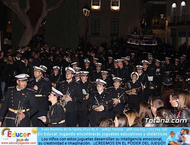 Traslado de los tronos a sus sedes (Calle Puente) . Viernes Santo 2018 - 20