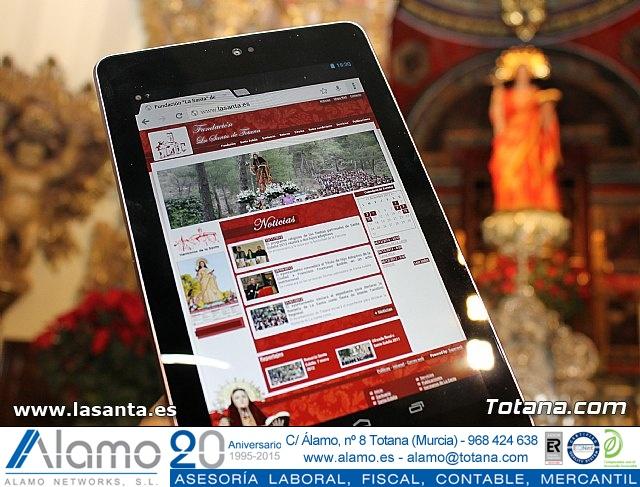 Presentación Cuadernos de La Santa y página web lasanta.es - 2