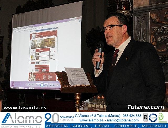 Presentación Cuadernos de La Santa y página web lasanta.es - 40