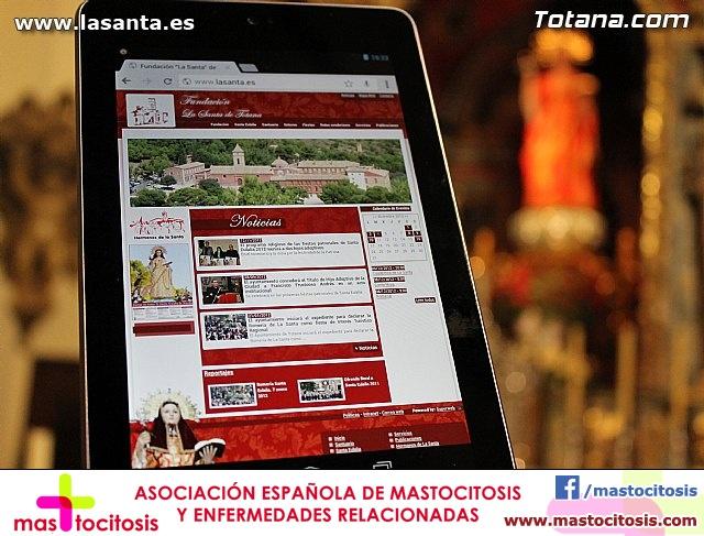 Presentación Cuadernos de La Santa y página web lasanta.es - 44