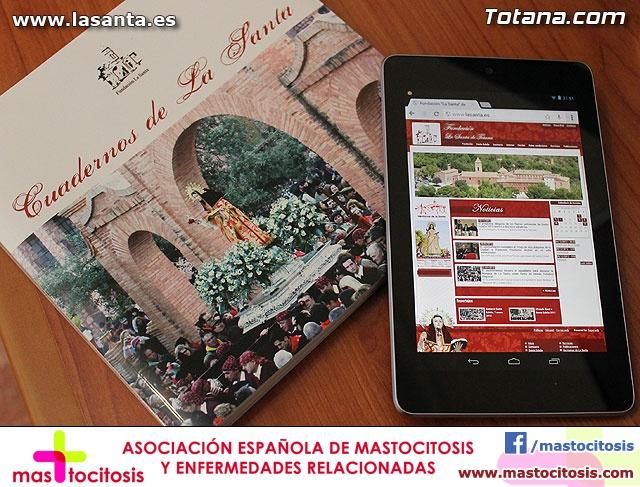 Presentación Cuadernos de La Santa y página web lasanta.es - 45